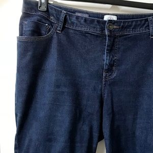 St. John's Bay Denim Bermuda Shorts, Size 18W